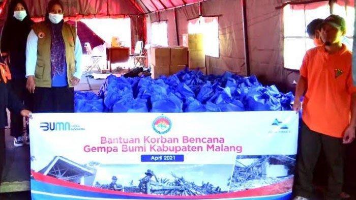 PJT I Kirim 200 Paket Sembako ke Korban Gempa Malang