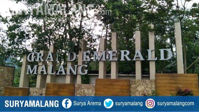 Perumahan Grand Emerald Malang di Desa Gondowangi, Kecamatan Wagir, Kabupaten Malang.