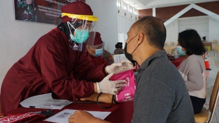 Polres Blitar Kota Buka Layanan Vaksin di Gedung Graha Patria Kota Blitar, Siap 300 Dosis/Hari