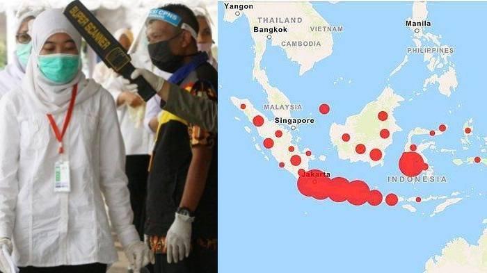 Daftar 32 Wilayah Zona Merah Covid-19 di Indonesia: Jakarta Kota Padang Wonosobo hingga Manokwari