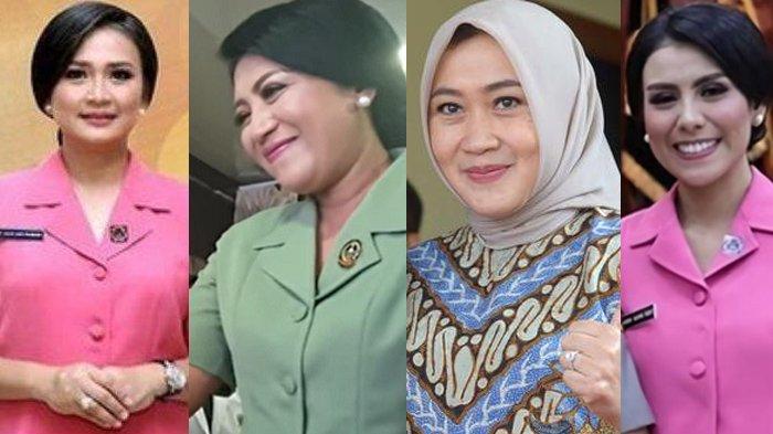 Pesona Istri-istri Jenderal TNI-Polri: Ada Istri Listyo Sigit Prabowo, Andika Perkasa & Idham Azis