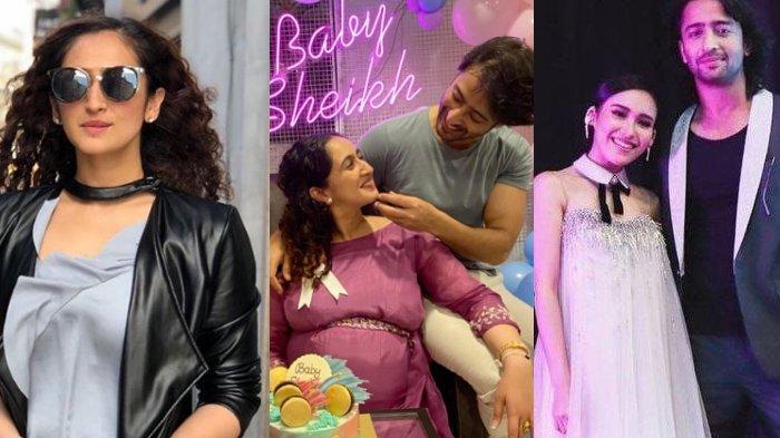 Pesona Ruchikaa Kapoor, Istri Aktor India 'Mantan' Ayu Ting Ting Shaheer Sheikh yang Baru Melahirkan
