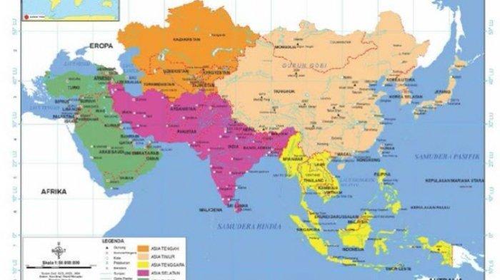 10 Besar Negara di Benua Asia dengan Kasus Virus Corona Tertinggi, Indonesia di Bawah China dan Irak