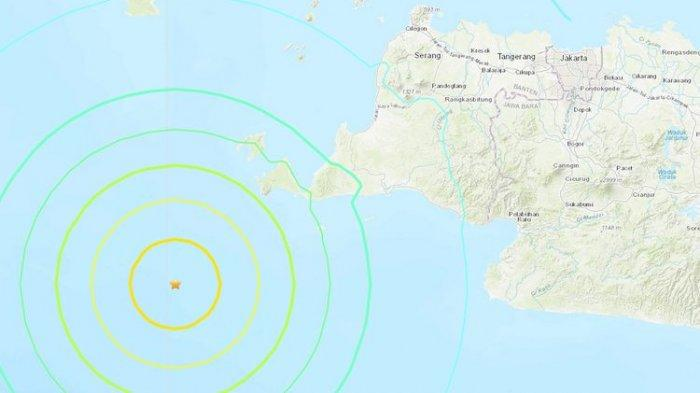 Jakarta Diguncang Gempa, Berpotensi Tsunami dan Berpusat di Megathrust Selat Sunda