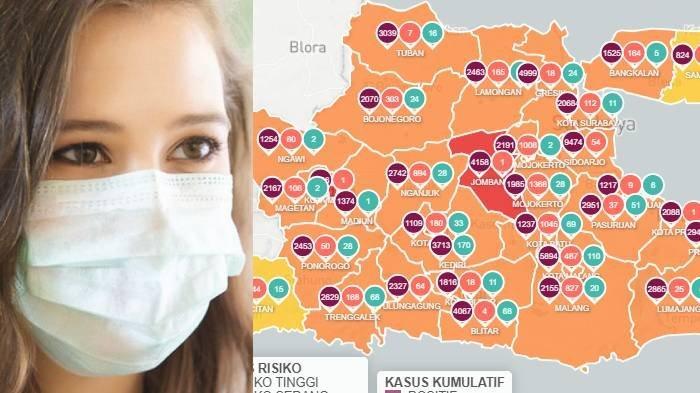 Zona Merah Jawa Timur Senin 15 Februari 2021, Hanya 2 Daerah: Kabupaten Jombang & Kota Madiun
