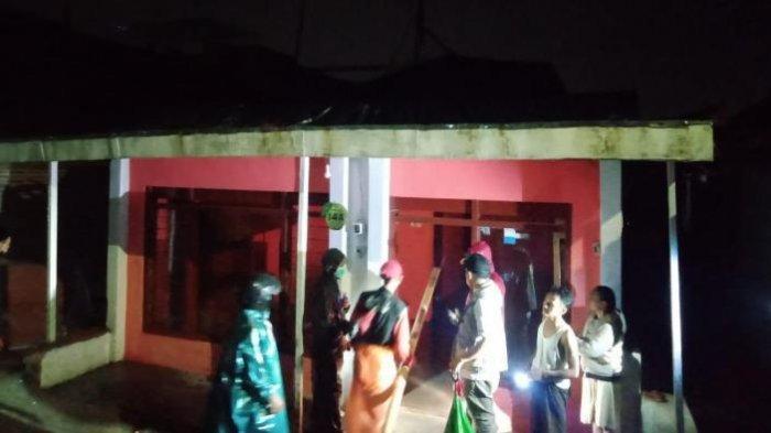 Plengsengan dan Rumah Rusak Setelah Hujan Melanda Kota Batu