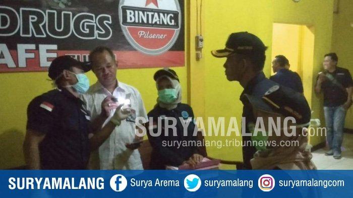 Razia Hiburan Malam di Tuban, Petugas Temukan Pengunjung Terindikasi Pemakai Obat Terlarang