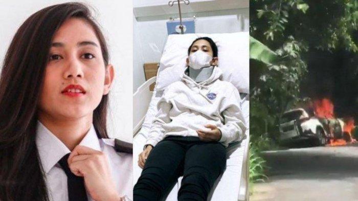 Update Kondisi Athira Farina, Pilot yang Dijodohkan dengan El Rumi Kecelakaan hingga Mobilnya Hangus