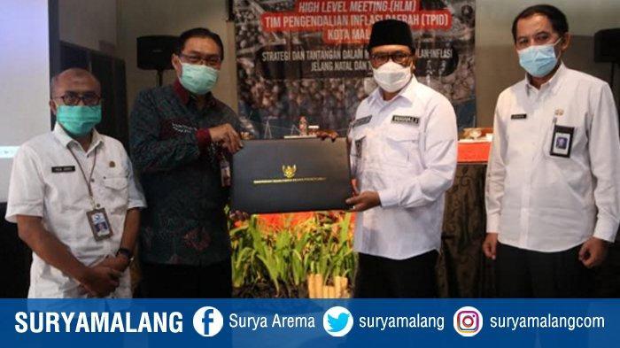 Kota Malang Raih Peringkat 3 Pengendalian Inflasi se Jawa Bali