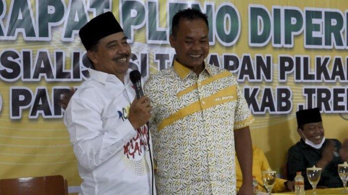 PKB dan Partai Golkar Sepakat Usung Totok-Panca di Pilbup Trenggalek 2020