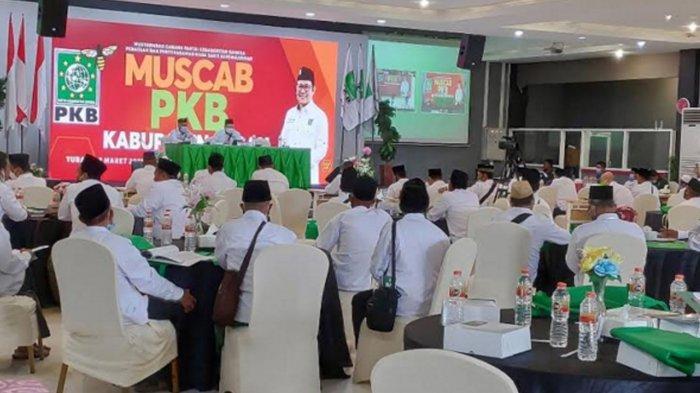Muscab PKB Tuban yang menetapkan M Miyadi sebagai Ketua DPC PKB Tuban, Minggu (7/3/2021)