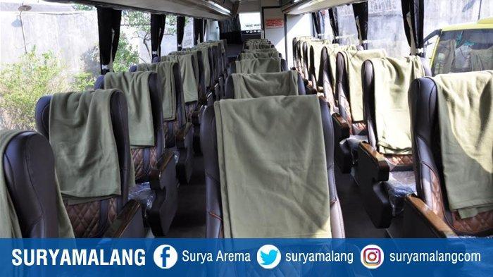 Desain Bus Social Distancing Ala Hino dan PO Handoyo yang Baru Dirilis Perhatikan Komposisi Kursinya