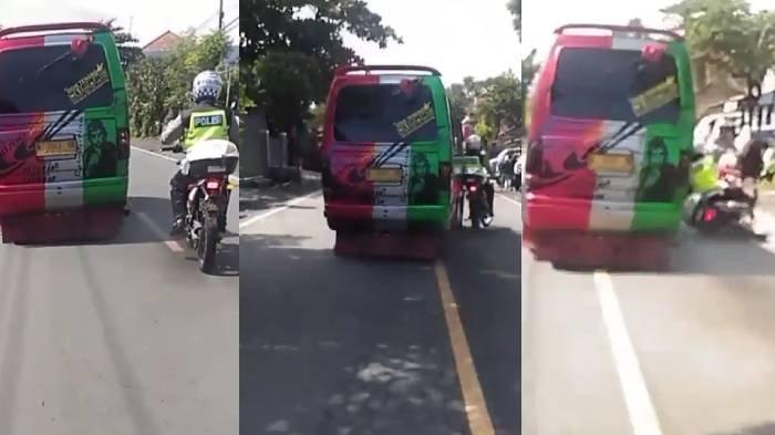 7 Fakta Mobil Elf Tabrak Polisi di Probolinggo Viral di Medsos, Kronologi dan Penyebab Terungkap