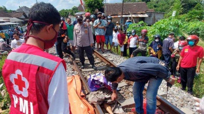 Ibu Dua Anak Tewas Ditabrak Kereta di Kota Blitar, Diduga Kuat Bunuh Diri, Sudah Dua Kali Percobaan