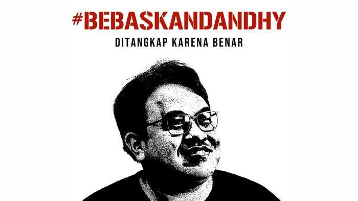 Dandhy Dwi Laksono Ditangkap Polisi, Ini Cuitan Jurnalis & Sutradara