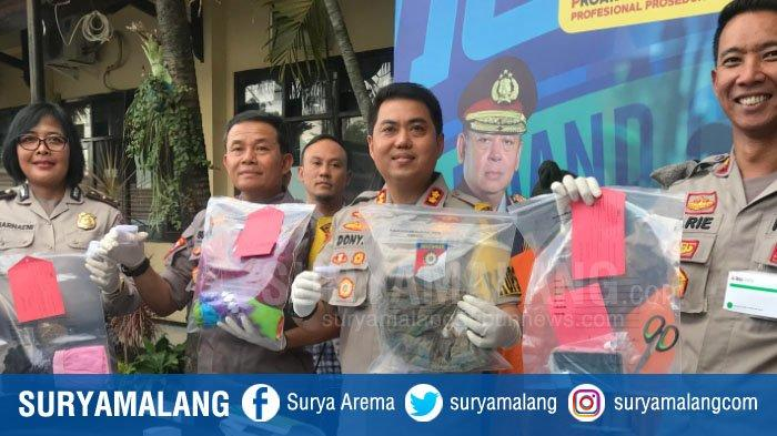 Polres Malang Kota Ungkap Jaringan Peredaran Obat Terlarang, 5 Orang Ditahan Termasuk Pelaku Aborsi