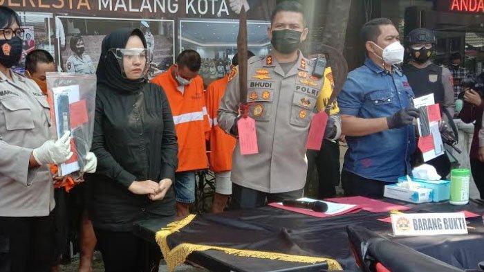 Polresta Malang Kota Tangkap 51 Tersangka Kasus 3C Selama Operasi Sikat Semeru 2021
