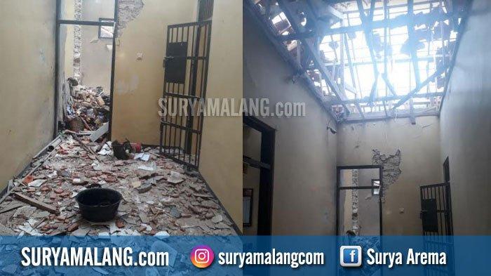 Ngeri! Ledakan Bom Hancurkan Markas Polsek Giligenting, Sumenep, Madura