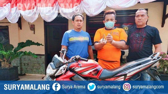 Kunci T Jadi Andalan Maling Motor di Singosari Kabupaten Malang, Satu Residivis Berhasil Diciduk
