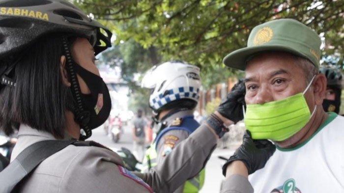 Sambut HUT Polwan ke-72, Polresta Malang Kota Bagikan Masker dan Gelar Donor Darah