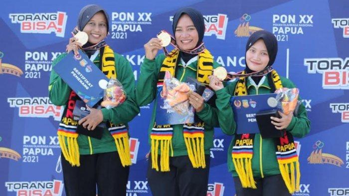 Panahan Kembali Tambah 2 Medali Emas PON XX Papua untuk Jatim