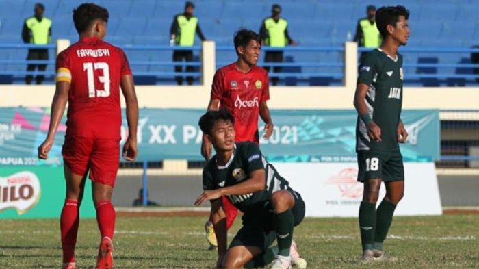 Gagal ke Final PON XX Papua, Tim Sepakbola Jatim Fokus Incar Perunggu Lawan Kaltim