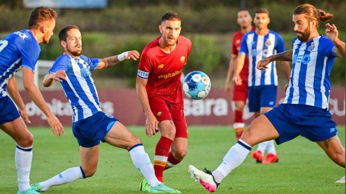 Laga Pra Musim Porto Vs AS Romo Diwarnai Perkelahian Pepe Vs Mkhitaryan,  Skor Akhir Seri 1-1