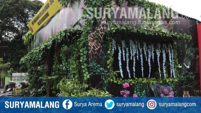 Pos Pengamanan Natal 2018 dan Tahun Baru 2019 Rasa Kebun Binatang Surabaya Mini