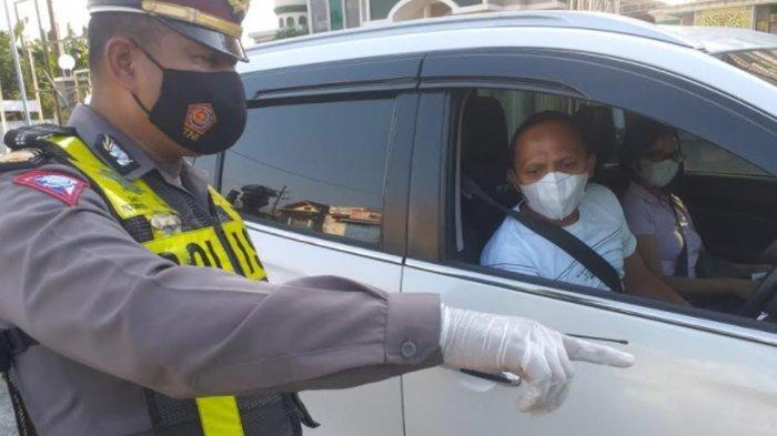Puluhan Kendaraan Dipaksa Putar Balik saat Hendak Masuk Sidoarjo