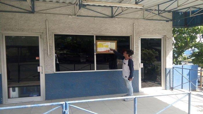 Dua Bulan, Pos Polisi WBL Paciran Lamongan Tiga Kali Jadi Sasaran Lemparan Hingga Kaca Pecah
