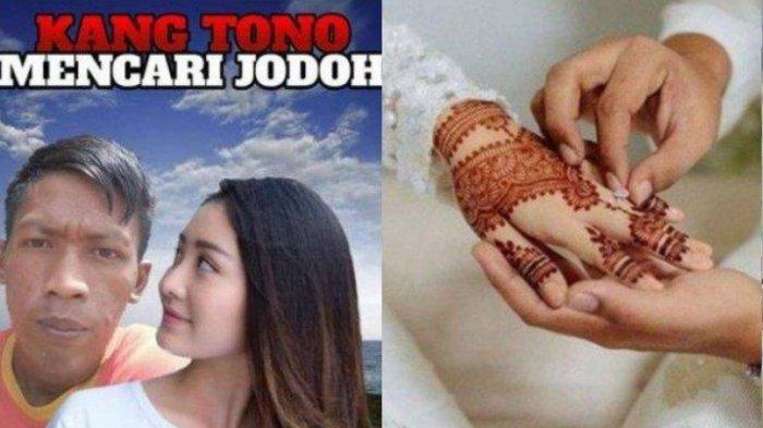 Siapa Kang Tono? Pria yang Viral di Medsos Pasang Poster Cari Jodoh, Curhat Pernah Ditinggal Nikah