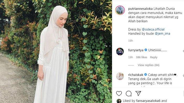 Postingan terbaru Putri Anne (Instagram/putriannesaloka)