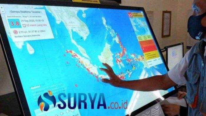 Soal Isu Tsunami Akibat Gempa Besar di Wilayah Selatan Jatim, Begini Penjelasan BMKG Karangkates