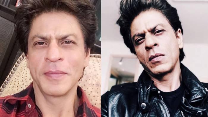 Potret aktor bollywood  Shah Rukh Khan