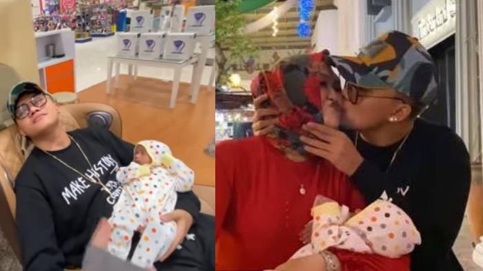Kondisi Bintang Bayi Lina dan Teddy Kini Beranjak Besar, Terus Menangis Saat Digendong Putri Delina