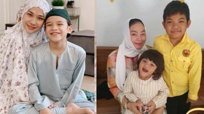 Unggah Foto Bareng Anak, Ini Potret Bunga Citra Lestari & Yan Vallia Rayakan Lebaran Tanpa Suami