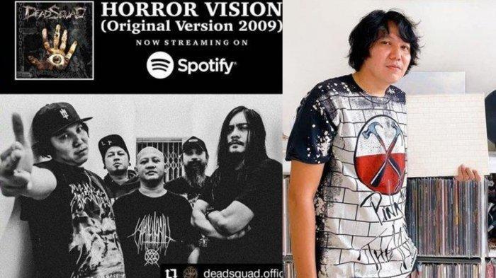 Sosok Daniel Mardhany, Vokalis Deadsquad yang Terjerat Narkoba, Postingan Terakhir Jadi Sorotan