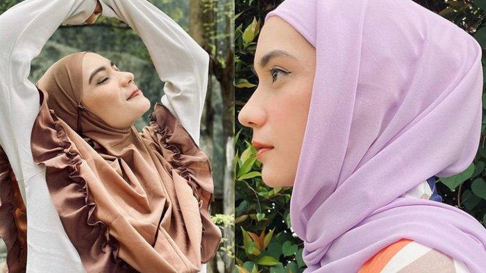 Potret Hijab Lebaran Ala Putri Anne Cocok untuk Idul Fitri 2021 & 3 Aksesoris Hijab yang Kece