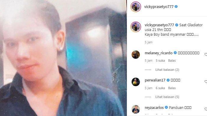 Potret jadul Vicky Prasettyo di usia 21 tahun bikin pangling