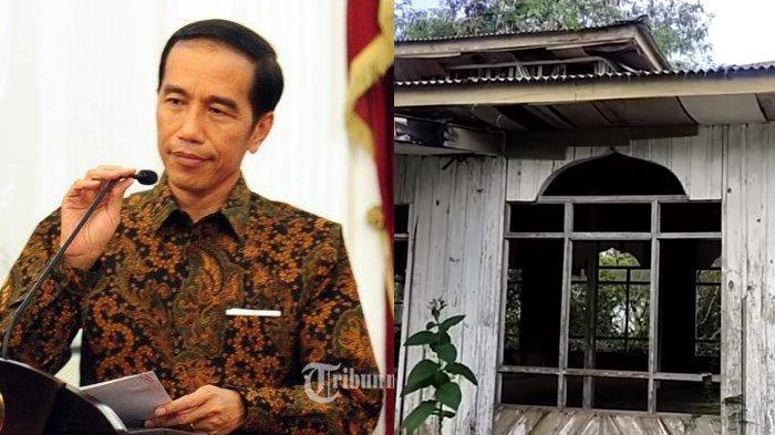 Penampakan Masjid Peninggalan Presiden Jokowi di Aceh, Bertembok Kayu Dikelilingi Semak & Pohon Kopi