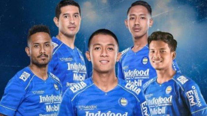 Potret pemain Persib Bandung yang akan bermain di perempat final Piala Menpora 2021