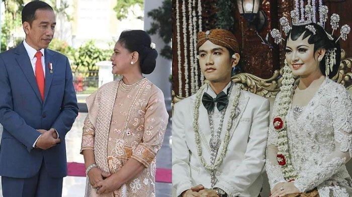 Foto keluarga Presiden Jokowi