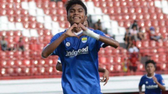 Potret Saiful pemain muda Persib Bandung