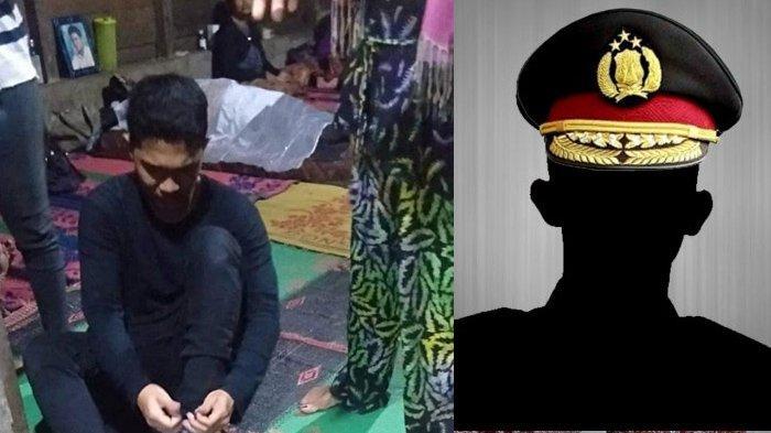 Potret Viral Anak Tahan Tangis Tinggalkan Jenazah Ayah Demi Tes Calon Polisi, Ada Wasiat Mengharukan