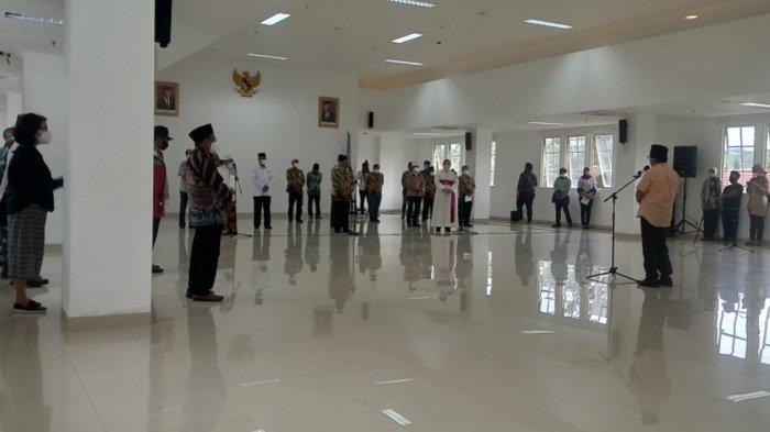 FKUB dan Tokoh Lintas Agama Kota Malang Deklarasi Dukung PPKM Darurat