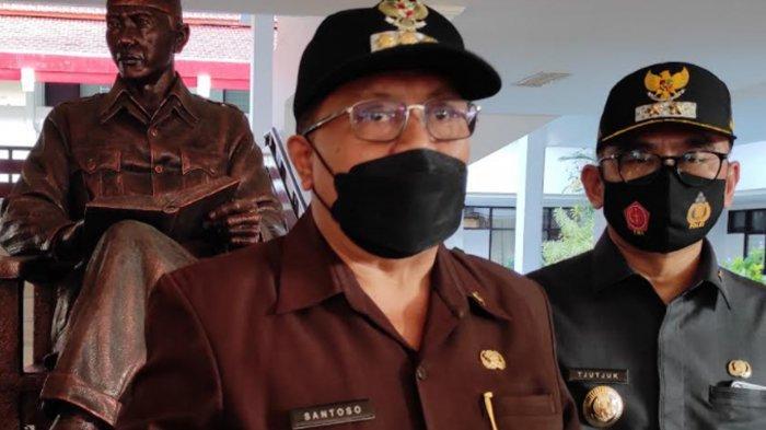 Wali Kota Blitar Santoso Minta Masyarakat Tetap Disiplin Protokol Kesehatan di Masa PPKM Level 4