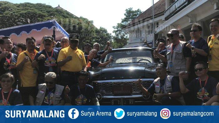 Wakil Wali Kota Malang Lepas Touring Mobil Kuno PPMKI, Dinilai Usung Unsur Sejarah