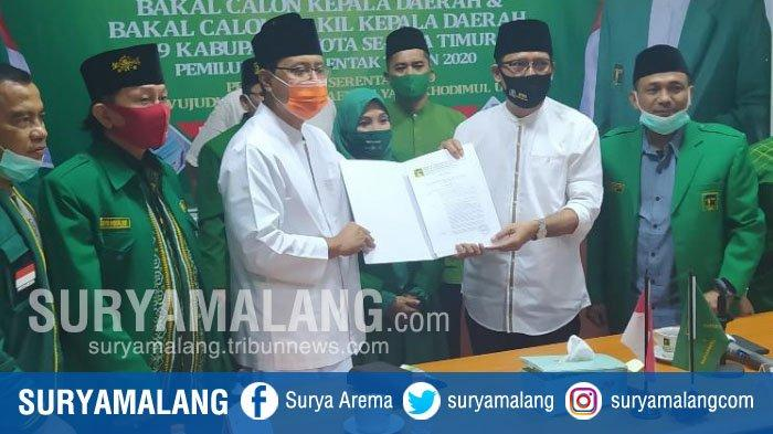 Peta Baru Pilwali Pasuruan 2020, PPP Merapat ke Koalisi Pengusung Pasangan Gus Ipul - Adi Wibowo