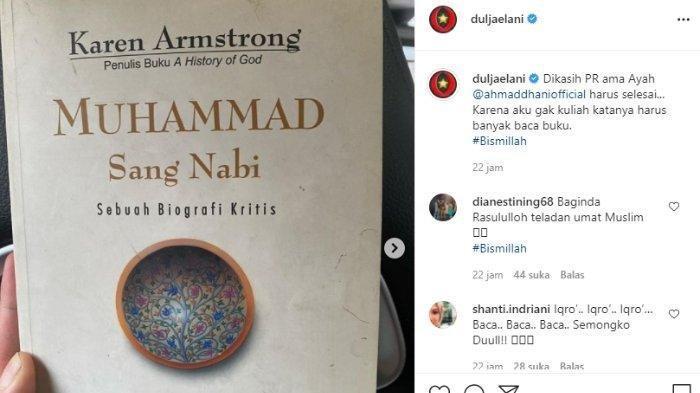 PR Buku dari Ahmad Dhani untuk Dul Jaelani