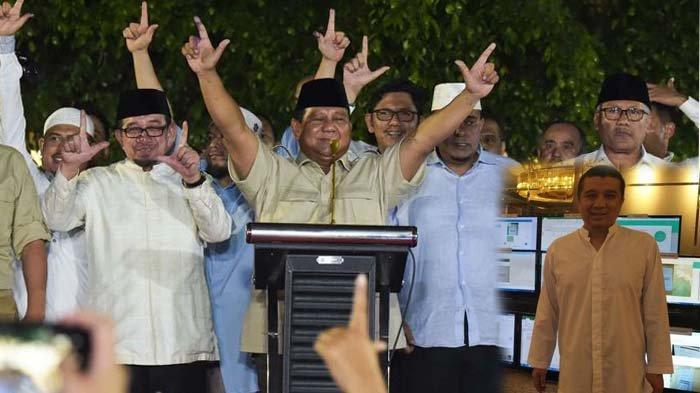 Jawaban Erwin Aksa Soal Klaim Kemenangan Prabowo Berdasar Quick Count & Real Count Internal